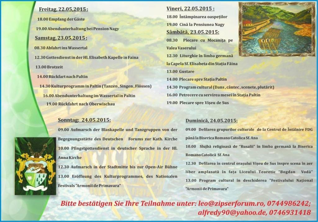 einladung Zipsertreff 2015 - Programm